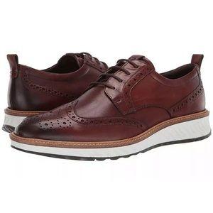 Ecco ST1 Hybrid Cognac men's Oxford shoes 12M